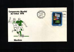 Argentina 1977 Football World Championship In Argentina - Mendoza - Coupe Du Monde