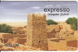 MAURITANIA - Expresso Prepaid Card 1000 UM, Exp.date 31/12/09, Used - Mauritania