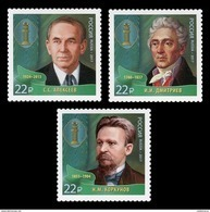 Russia 2017 Mih. 2514/16 Outstanding Lawyers MNH ** - Nuevos
