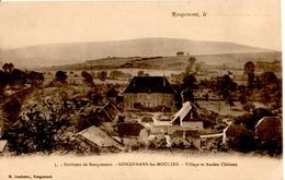 Environs De Rougemont - GONDENANS Les MOULINS - Village Et Ancien Château - Autres Communes