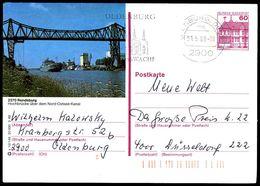 83981) BRD - P 138 - S10/146 - OO Gestempelt - 2370 Rendsburg, Hochbrücke über Den Nord-Ostsee-Kanal - [7] West-Duitsland
