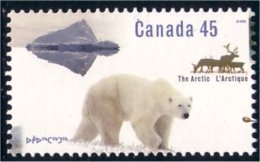 Canada Ours Polaire Polar Bear Caribou MNH ** Neuf SC (C15-74b) - Beren