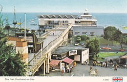 SOUTHEND ON SEA - THE PIER. - Southend, Westcliff & Leigh
