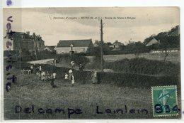 Environs D'Angers - MURS - ( M Et L ), Route De Murs à Erigné, Animation, Rare, écrite, TBE, Scans. - Autres Communes