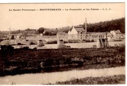 Le Doubs Pittoresque - MONTFERRAND - La Passerelle Et Les Usines - Autres Communes