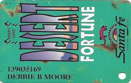 Santa Fe Casino - Las Vegas, NV - 2nd Issue Slot Card - Casino Cards