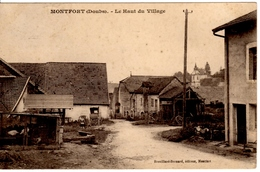 MONTFORT (Doubs) - Le Haut Du Village - Autres Communes