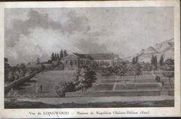 France - Postcard Unused  - View Of Longwood - House Of Napoleon - Saint Helene - 2/scan - Sainte-Hélène