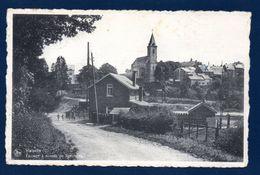 Vielsalm. Passage à Niveau De Rencheux. Eglise.  Franchise Militaire Peloton De Garde Caserne De Rencheux. Juin 1946 - Vielsalm