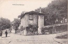 PARIS D' AUTREFOIS N° 180 18° MONTMARTRE Rue Du MONT CENIS Ancienne Rue SAINT DENIS Maison Du MUSICIEN BERLIOZ - Arrondissement: 18