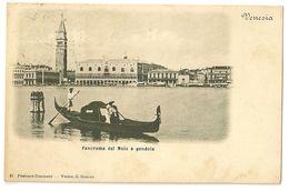 S6946 - Venezia -Panorama Del Molo E Gondola - Venetië (Venice)
