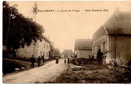 FALLERANS - Le Centre Du Village - France