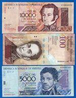 Venezuela  5  Billets - Venezuela