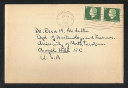 Canada 1965 Postal Stationery Used Picture Postcard With Stamps To USA U S A - Postal History