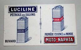 Buvard Luciline. Pétrole Des Salons - . Moto Naphta - P