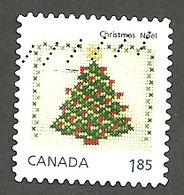 Sc. # 2691 Christmas Crafts Coil World Rate  Single  2013 Used K517 - 1952-.... Reign Of Elizabeth II