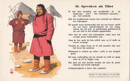 Vloeipapier Buvard Spreuken  Uit Tibet 36 Proverbes De Tous Les Peuples Et De Tous Les Temps - Buvards, Protège-cahiers Illustrés