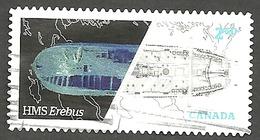 Sc. # 2856 Franklin Expecition, HMS Erebus World Rate Booklet  Single  2015 Used K528 - 1952-.... Reign Of Elizabeth II