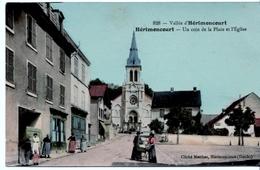 HERIMONCOURT - Un Coin De La Place Et L'Eglise - Autres Communes