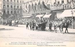 ANTWERPEN - Vrijmaking Der Schelde (1863 - 1913) - 32 - Booten Beladen Met Brandstoffen - Antwerpen