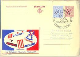 Nx994:: 30-5-1970 LOUIS DELATTE 1870-1970 FONTAINE L'EVEQUE :Publibel 2359 N LU.... Iets Beschadigd - Poststempels/ Marcofilie