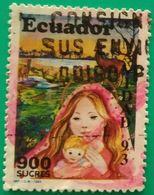 ECUADOR 1993 Navidad. USADO - USED. - Ecuador