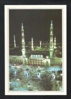 Saudi Arabia Picture Postcard Aerial View Holy Mosque Medina Madina Islamic View Card - Saudi-Arabien