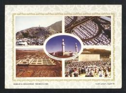 Saudi Arabia Picture Postcard Holy Mosque Ka'aba Mecca 5 Scene Islamic View Card - Saudi-Arabien