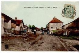 GERMEFONTAINE - Ecole Et Mairie - Autres Communes