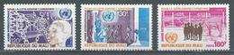 Maroc YT N°297/299 Lutte Contre L'apartheid Neuf ** - Marokko (1956-...)