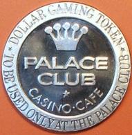 $1 Casino Token. Palace Club, Fallon, NV. 1966 NEW. D35. - Casino