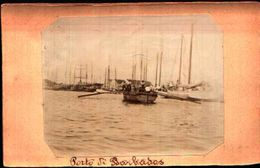87158) Cartolina Fotografica Barbados-il Porto-nuova - Cartoline