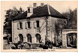 LAVANS-QUINGEY - La Mairie - Autres Communes
