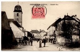 Fontaine Les Clerval - Grande Rue - France