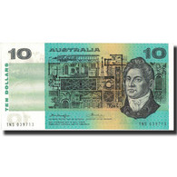 Billet, Australie, 10 Dollars, 1976, 1976, KM:45b, SPL - Emisiones Gubernamentales Decimales 1966-...