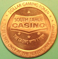 $1 Casino Token. South Tahoe, Lake Tahoe, NV. 1966 NEW. D40. - Casino
