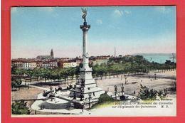 BORDEAUX 1927 MONUMENT DES GIRONDINS CARTE EN BON ETAT - Bordeaux