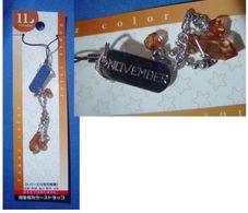 Decorative Strap : November - Charms