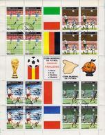 CUBA - Bloc Feuillet De 1982 - Coupe Du Monde De Football Espagne 1982 - 1 Bloc Oblitéré - Blocs-feuillets
