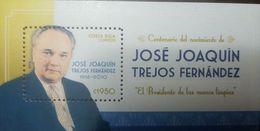 L) 2016 COSTA RICA, JOSE JOAQUIN TREJOS FERNANDEZ, PRESIDENT, POLITICAL, PEOPLE, CENTENARY OF BIRTH, 1916 - 2010, THE PR - Costa Rica