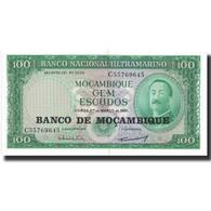 Billet, Mozambique, 100 Escudos, 1961, 1961-03-27, KM:109a, NEUF - Mozambique