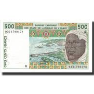 Billet, West African States, 500 Francs, 1993, 1993, KM:710Kc, NEUF - États D'Afrique De L'Ouest