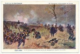 """CPA - 43eme Régiment D'Infanterie De Ligne - IENA 1806 - Edition """"Le Petit Journal"""" - Régiments"""