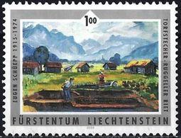 Liechtenstein 2006 - Painting By Eugène Schüepp ( Mi 1405 - YT 1346 ) - Gebraucht