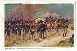 """CPA - 84eme Régiment D'Infanterie De Ligne - MARENGO 1800 - Edition """"Le Petit Journal"""" - Régiments"""