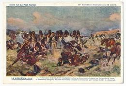 """CPA - 33eme Régiment D'Infanterie De Ligne - LA MOSKOWA 1812é - Edition """"Le Petit Journal"""" - Régiments"""
