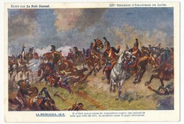 """CPA - 127eme Régiment D'Infanterie De Ligne - LA MOSKOWA 1812 - Edition """"Le Petit Journal"""" - Régiments"""