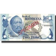 Billet, Botswana, 2 Pula, 1976, 1976, KM:2s, NEUF - Botswana