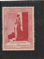 VIGNETTE GLOIRE A LA GENDARMERIE-   NSG -                                 TDA43 - Commemorative Labels