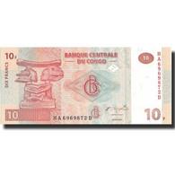 Billet, Congo Democratic Republic, 10 Francs, 2003, 2003-06-30, KM:93a, NEUF - Congo